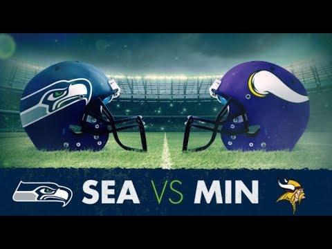 MONDAY NIGHT FOOTBALL SEAHAWKS VS VIKINGS | LIVE |