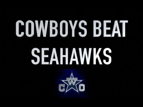 (11-6) DALLAS COWBOYS WILD CARD REVENGE VS SEAHAWKS