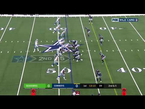 Seahawks vs Cowboys Wild Card Round Highlights | NFL 2018 Playoffs