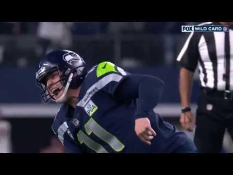 Sebastian Janikowski Injury on 57 Yard FG Attempt | Seahawks vs. Cowboys | NFL