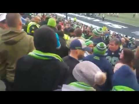 Cardinals Fan Jay Dee Harp Punches Lesbian Woman at Seahawks Game