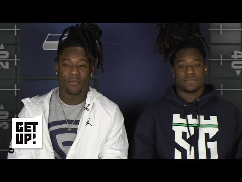 Shaquem and Shaquill Griffin give defensive tips for NFL playoff teams | Get Up!