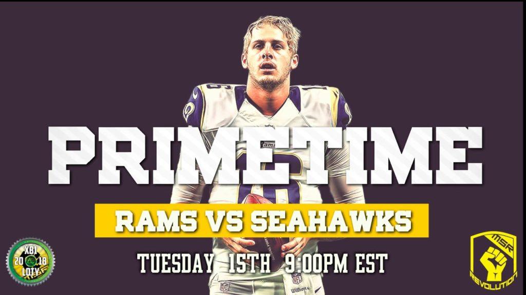 MSR PRIMETIME | Rams vs Seahawks #bigplaygaming