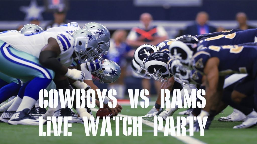 COWBOYS VS RAMS LIVE PLAY BY PLAY & REACTION