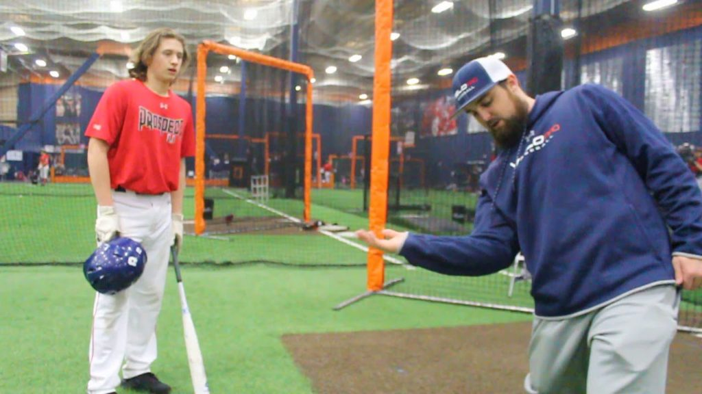 1 on 1 Hitting advice W/ Mariners Hitter Jordan Cowan