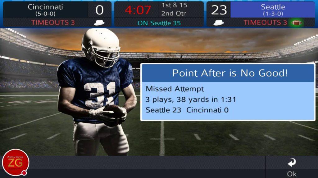 PSF 2018 Single Season Mode Ep.21 Sunday Night Football Cincinnati Bengals Vs Seattle Seahawks