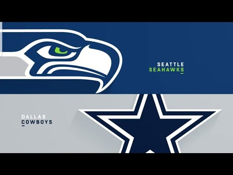 Madden nfl 18 Dallas  cowboys vs Seattle  Seahawks part 1