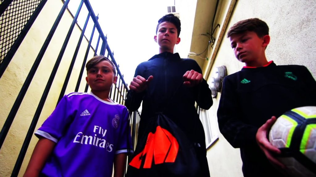 STREET BALLERS  FOOTBALL CHALLENGE!!!  Kickin Cousins play to win Nike Mercurials!!!