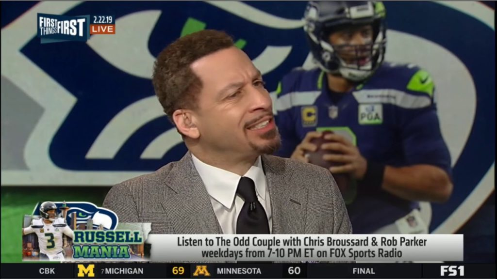 Colin Cowherd: Russell Wilson rumored to want out of Seattle, play for Giants | FIRST THINGS FIRST