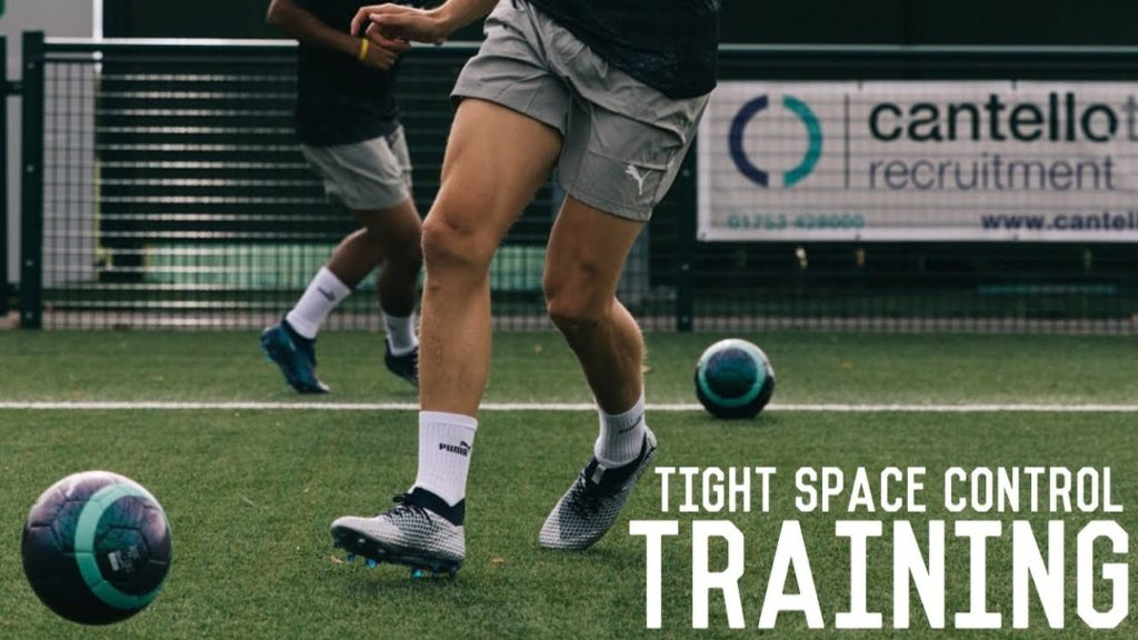 Tight Space Control Training Drills | Sharpen Up Your Touch With These Drills