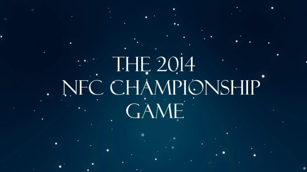 NFL Bedtime Stories: The 2014 NFC Championship Game