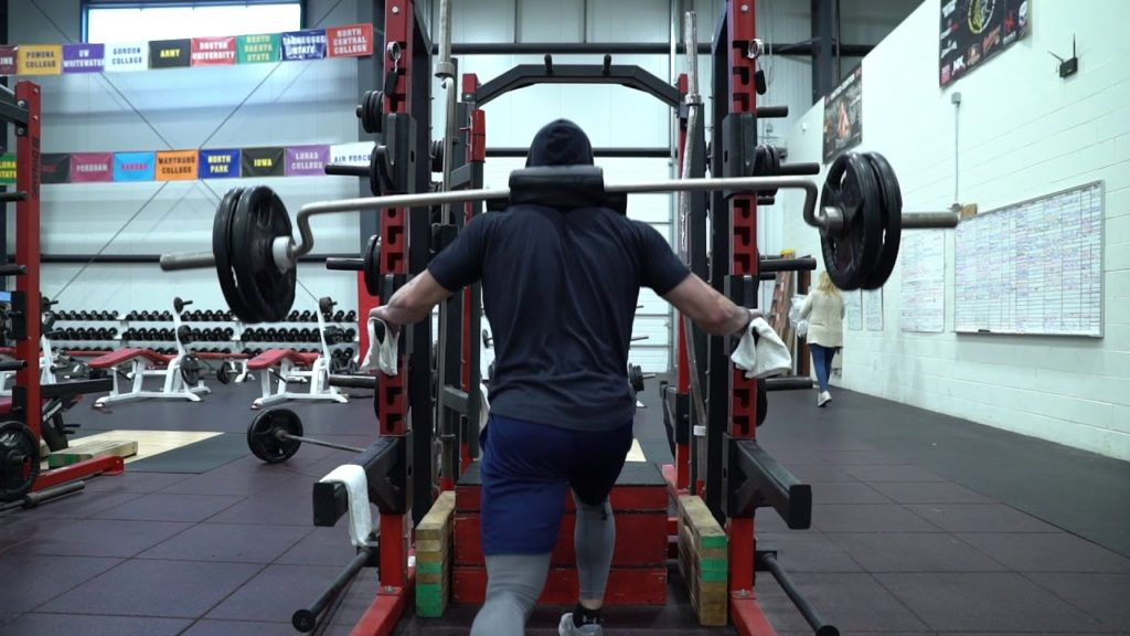 500lb Split Squat by 19 y/o Seattle Mariner Jarred Kelenic 2019 25 Days Out from Spring Training