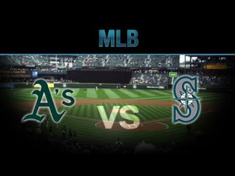 MLB Live – Oakland Athletics vs. Seattle Mariners – Full Game