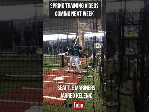 Spring Training Batting Practice Jarred Kelenic #seattlemariners #mariners #springtraining2019