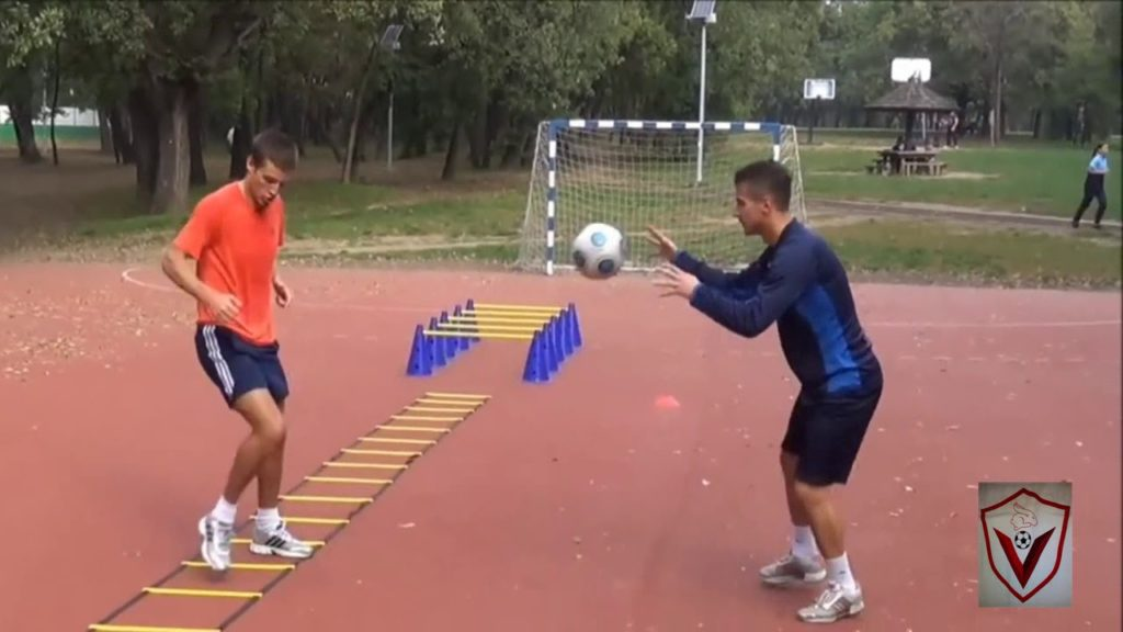 SOCCER POWER AGILITY COORDINATION EXERCISES