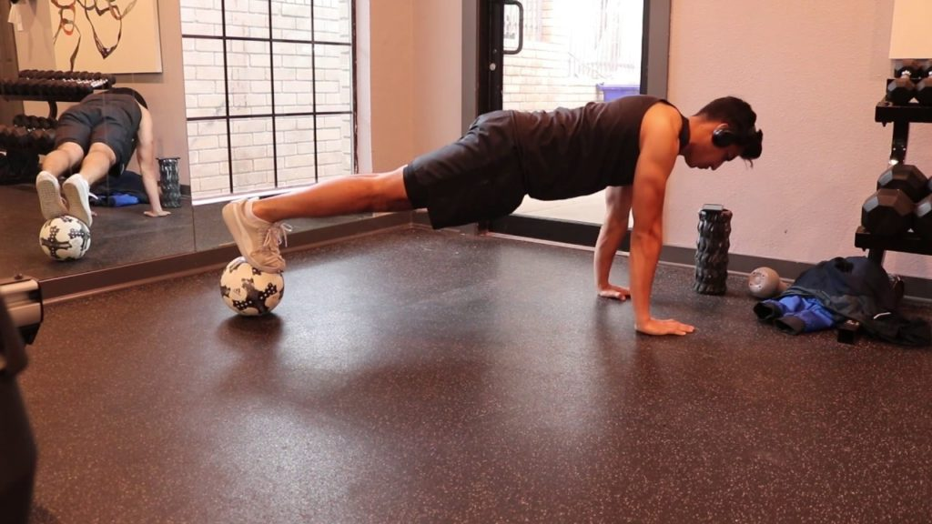 10 EFFECTIVE Exercises YOU Can Do With a Soccer Ball Right Now! | Football Fitness