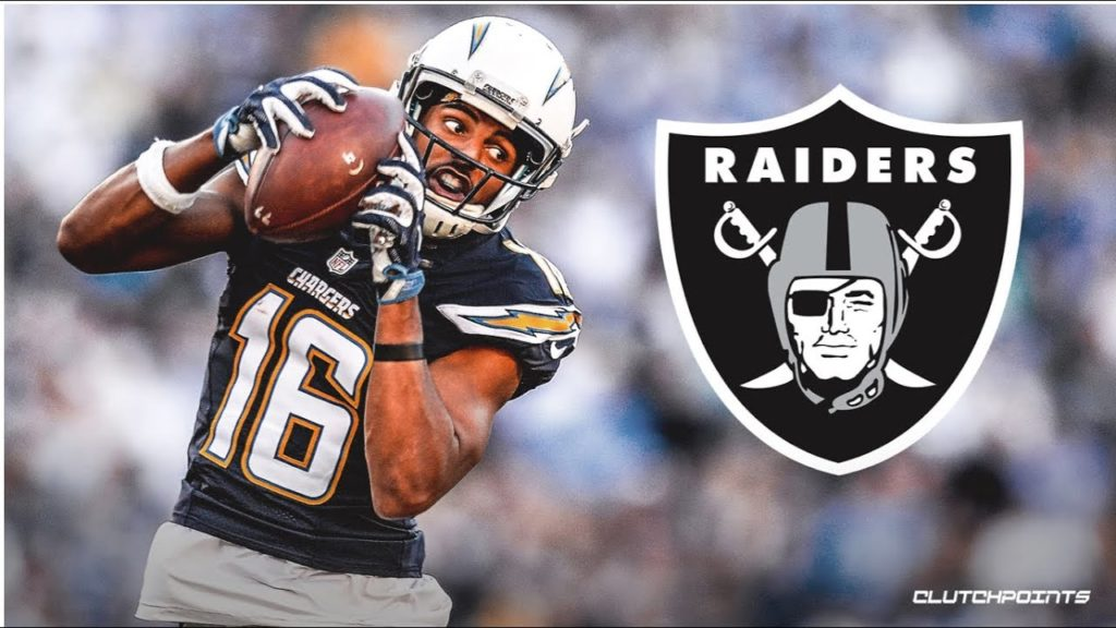 Tyrell Williams signs with the Raiders. Damn I wanted the Seahawks to get him.