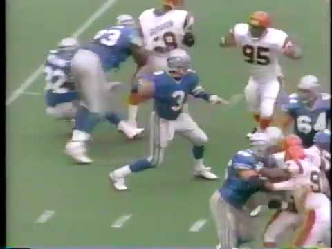 1993 Seahawks at Bengals  Week 4