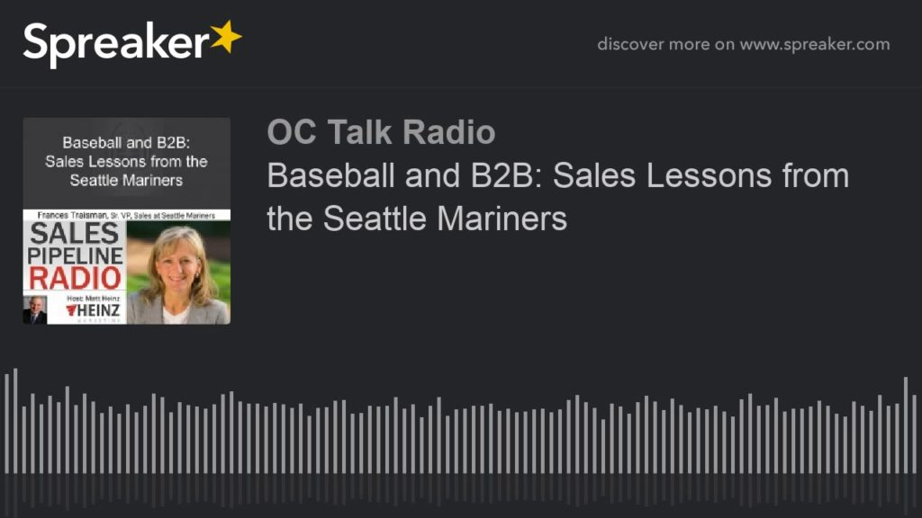 Baseball and B2B: Sales Lessons from the Seattle Mariners