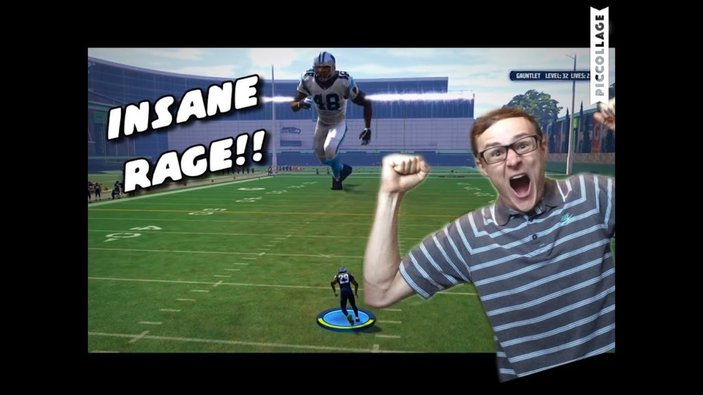 100 ft GIANT BOSS LEVEL Causes INSANE RAGE!! Hlarious Madden 16 Gauntlet