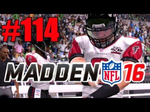 Madden 16 Career Mode – Part 114 – NERO VS WILSON! (Falcons at Seahawks) [Season 6, Week 12]