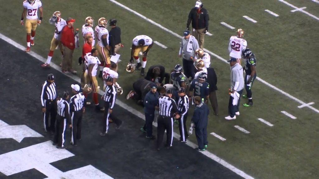 NFC Championship: Seattle Seahawks vs. San Francisco 49ers- NaVorro Bowman Injured