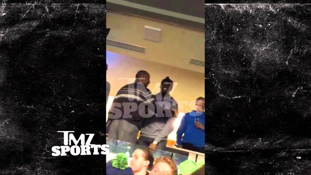 NBA's Draymond Green — PELTS SEAHAWKS FANS WITH FOOD … At NFL Playoff Game | TMZ Sports