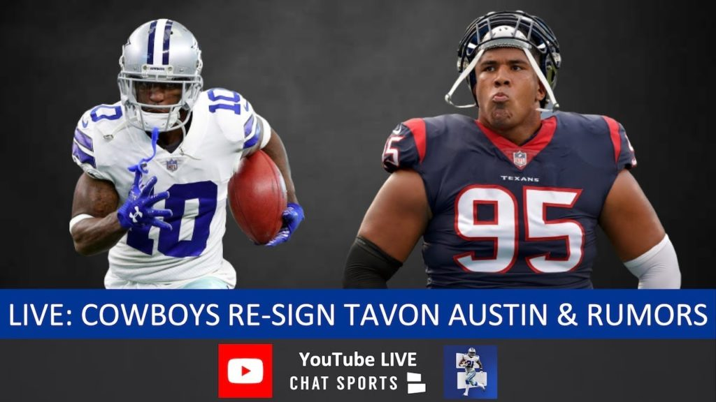 89132d43c3d Tavon Austin Re-Signs With Dallas Cowboys & Christian Covington Signs In NFL  Free Agency