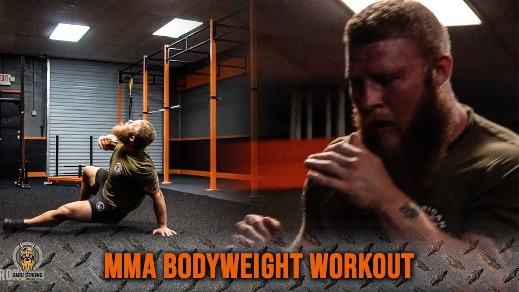 Use This MMA Bodyweight Workout For Fight Endurance