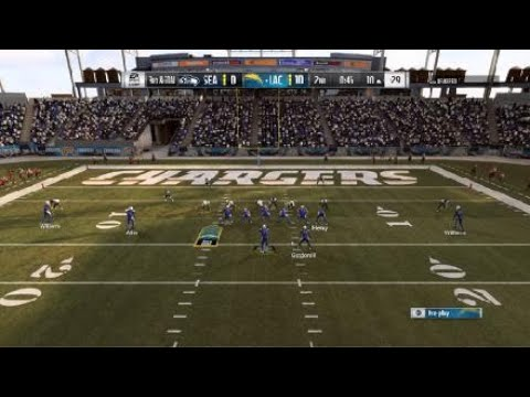 Madden NFL 19 Chargers vs Seahawks Ranked part 1