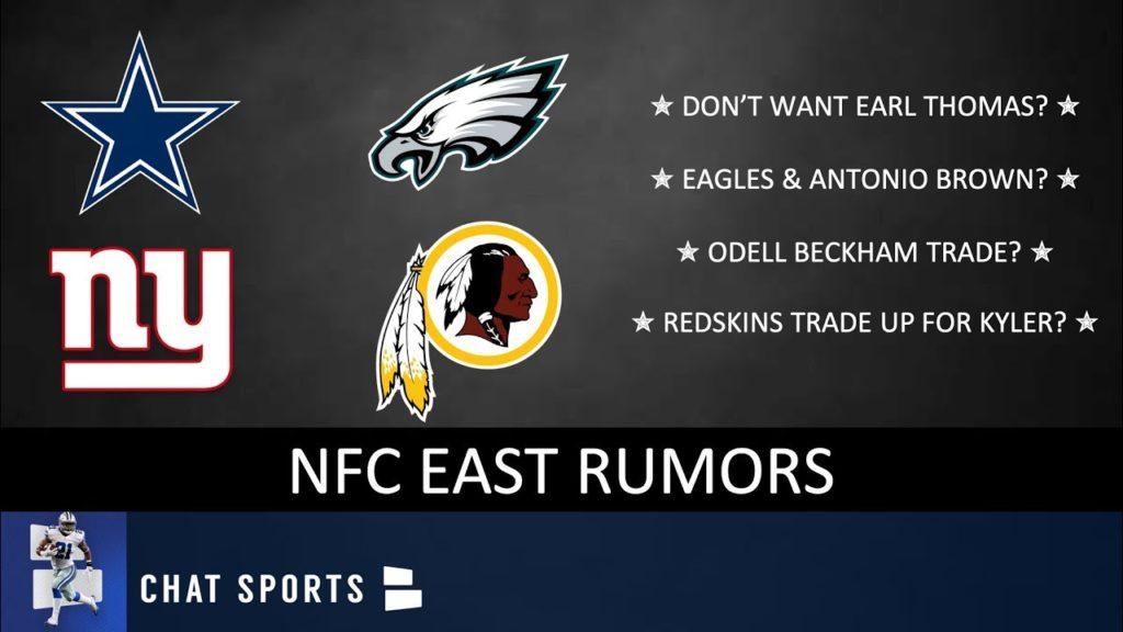 NFC East Rumors: Odell Beckham Trade, Eagles Want Antonio Brown, Kyler Murray, Cowboys & Earl Thomas