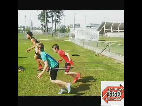 Top notch youth football Drills with T360