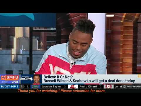 Believe It or Not #GMFB – Russell Wilson & Seahawks Get Deal Done; Better Rookie Kyler or Baker