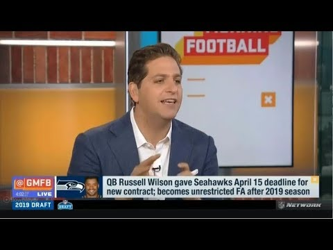 Do you believe the Seahawks give Russell Wilson a new contract today? | GMFB Today