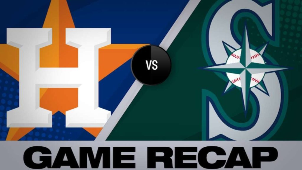 4/14/19: Diaz's homer lifts Astros to series sweep