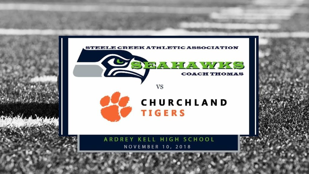 2018 Regional Playoffs (JV) – Steele Creek Seahawks vs Churchland Tigers