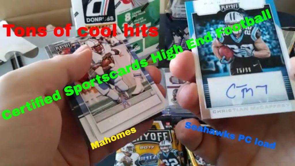 Certified Sportscards high End Football – Seahawks Galore and Mahomes