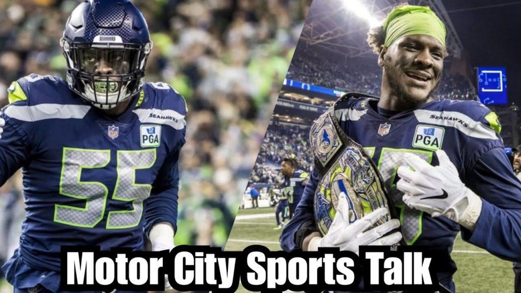 Seahawks Shopping Former U of M DE Frank Clark | Should Detroit Lions Be Interested?