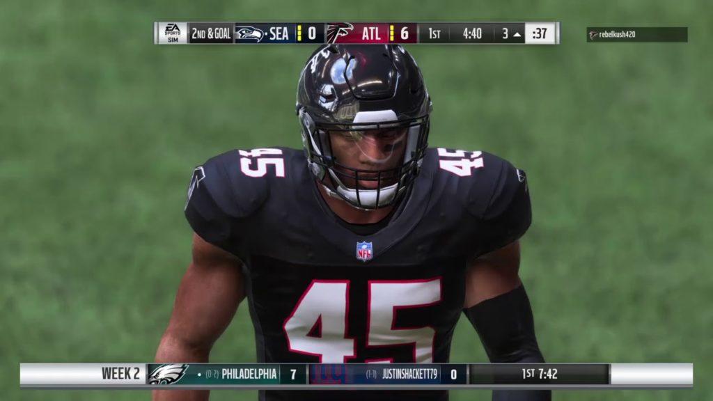 Madden 19 Skol Franchise Season 2019 Seahawks Vs Falcons (Vs RebelKush)