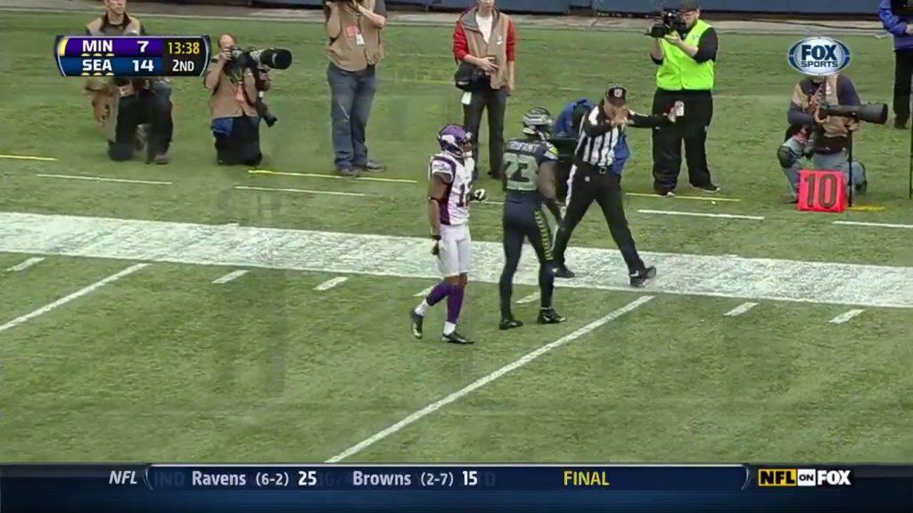2012 NFL Week 9 Vikings at Seahawks 720 AP vs Beastmode; rush explosion