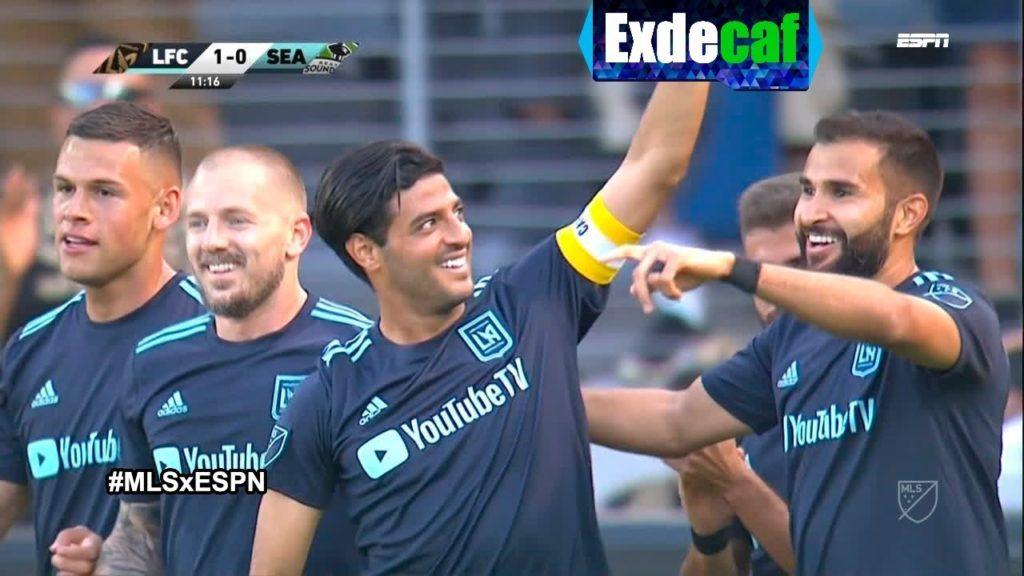 GOL – Carlos Vela | Los Angeles FC 1-0 Seattle Sounders FC – Semana 8 MLS 2019