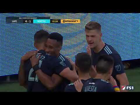 GOAL Christian Ramirez | LAFC 4 – 1 Seattle Sounders