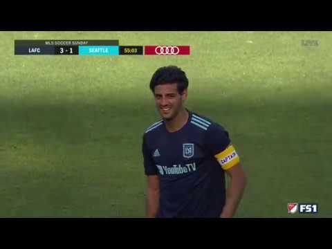 GOAL Carlos Vela | LAFC 3 – 1 Seattle Sounders