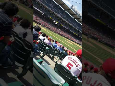 At an Angels game/Angels Vs Mariners Part 2