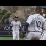 Justin Bour Doesnt Run Out a Pop Up and Mariners turn a Double Play, A Breakdown