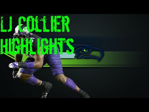 """L.J Collier """"Seattle Seahawks 1st Rounder TCU Highlights"""""""