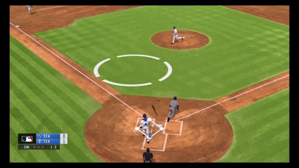 RBI Baseball 19 – Seattle Mariners vs Texas Rangers Gameplay – MLB Season Match 5/20/2019