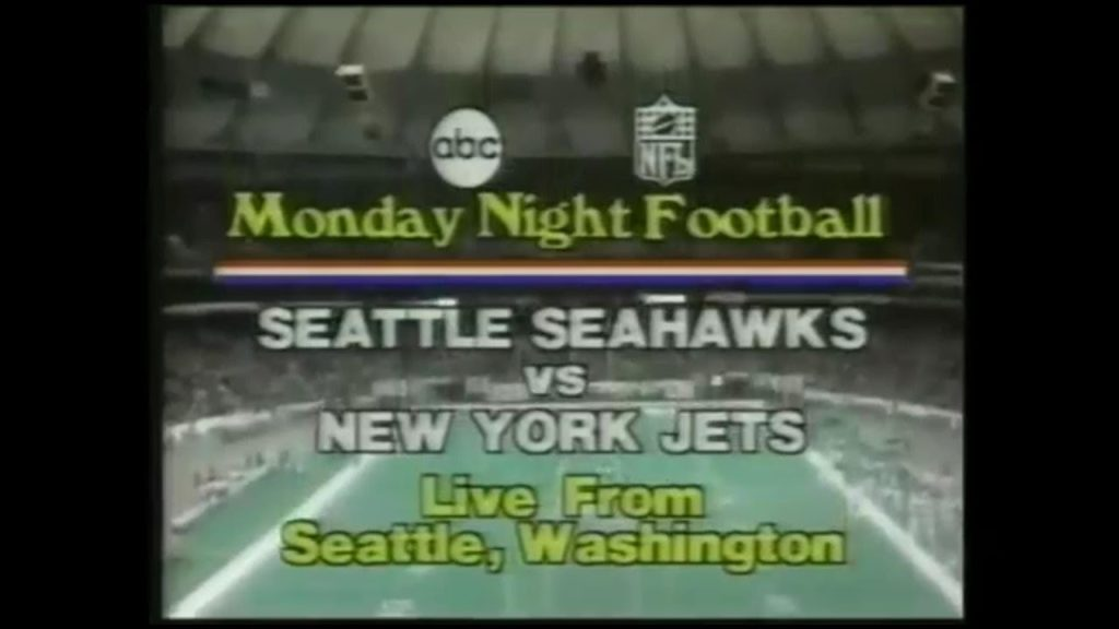 1979-11-26 New York Jets vs Seattle Seahawks