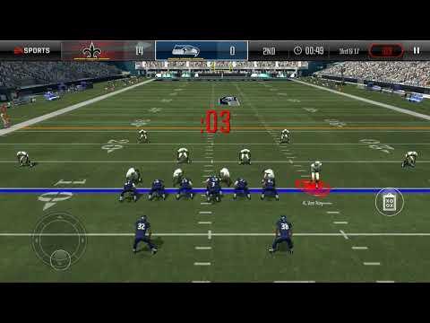 Madden overdrive-Saints vs Seahawks