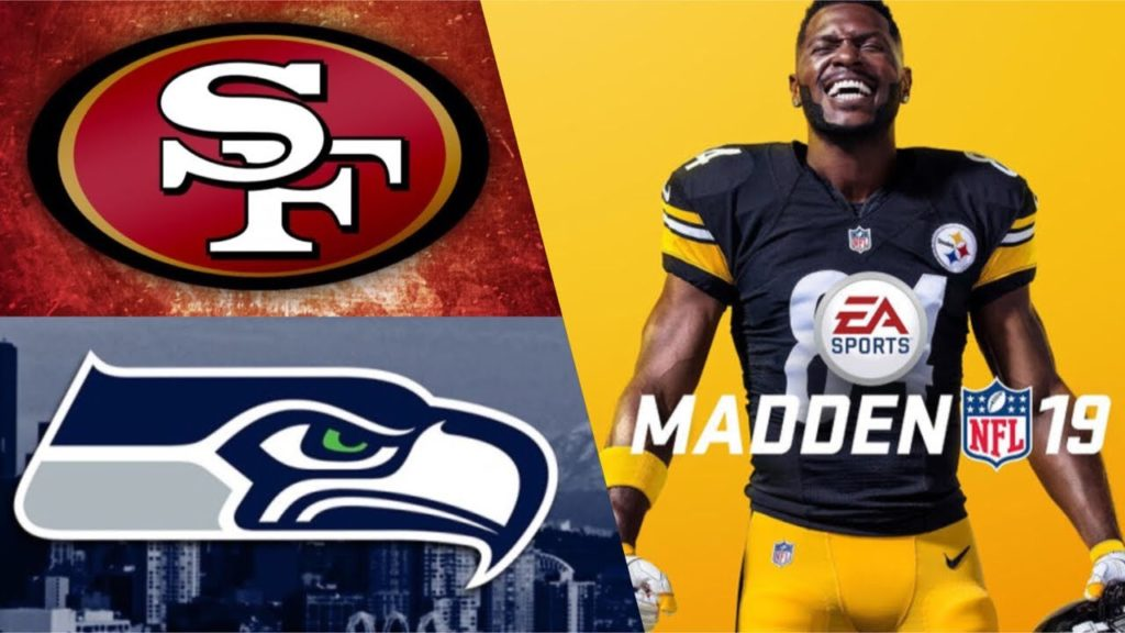 Madden NFL 19 San francisco 49ers vs Seattle Seahawks